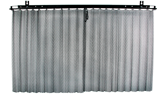 Superior Mesh Fireplace Curtain Best 2017