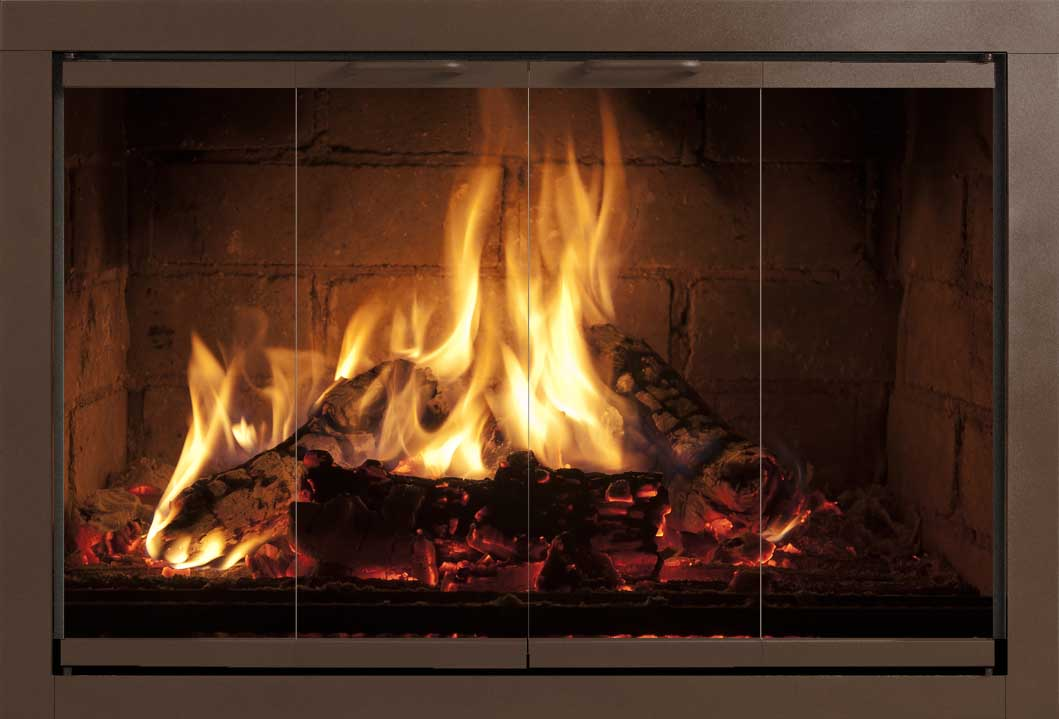 fireplace firewood flicker flame christmas - 1000×687